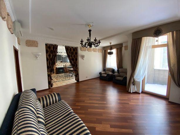 Без %, Ольгинская 6, м. Крещатик, апартаменты 155м2, мебель, техника