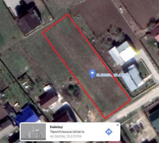 Продаж земельної ділянки 0,16 га Байківці Русанівка 33900 у.о.