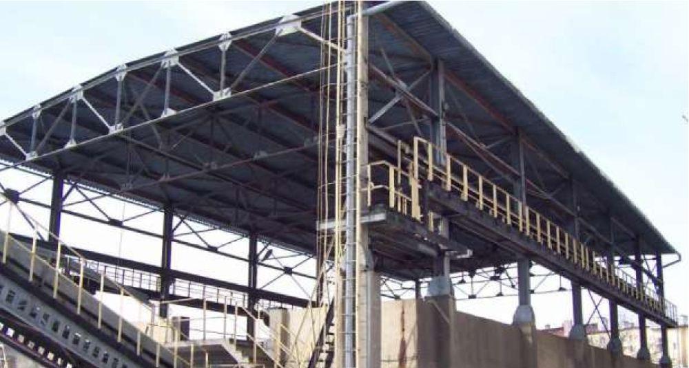 Konstrukcja stalowa 15 x 40 m, hala wiata magazyn na maszyny rolnicze Doruchów - image 1