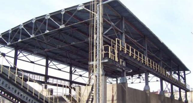 Konstrukcja stalowa 15 x 40 m, hala wiata magazyn na maszyny rolnicze