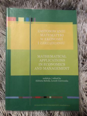 Zastosowanie matematyki w ekonomii i zarządzaniu, Babula, Czerwonka