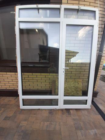 Металопластикові двері/вікно