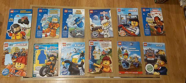 Lego City gazetki 12szt