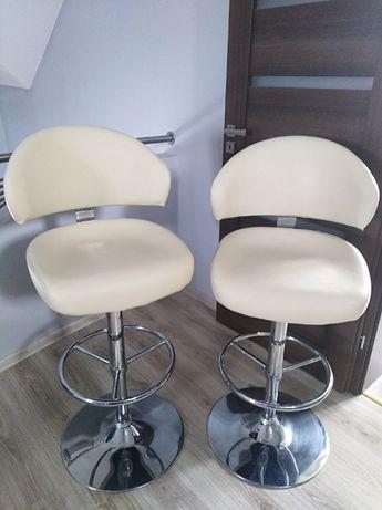 Hokery, krzesła barowe (2 sztuki) - super cena za komplet