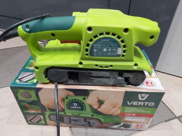 Szlifierka taśmowa 730W Verto 51G707