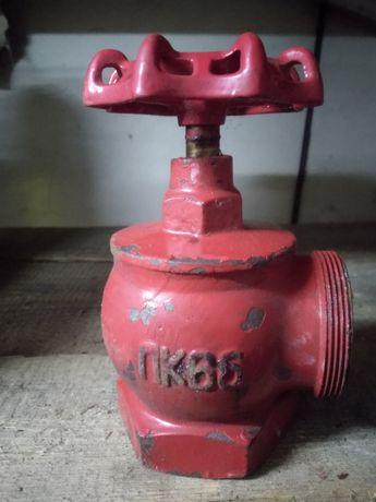 Продам пожарні крани, кутки труби