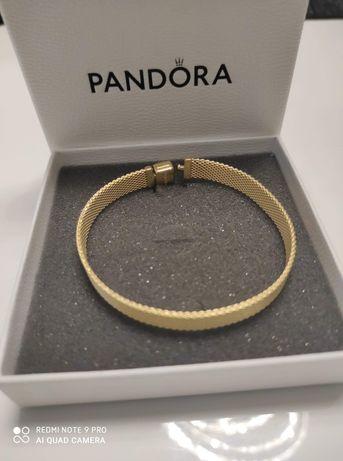 Bransoletka Pandora Reflexions Gold Nowa Oryginalna Idealna na prezent
