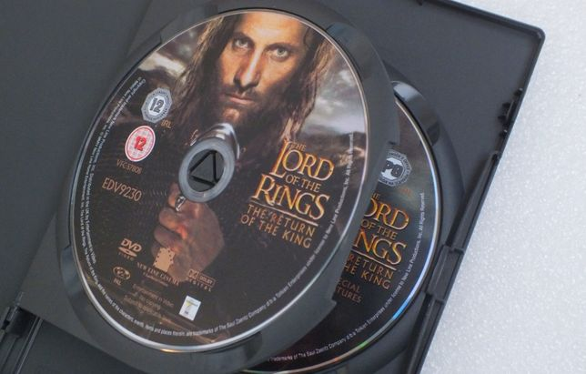 Оригинальные лицензионные DVD / VIDEO / The Lord of the Rings.