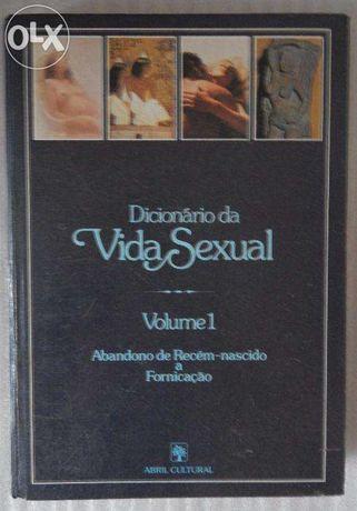 """Livros """"Dicionário da vida sexual, volume 1 e 2"""""""