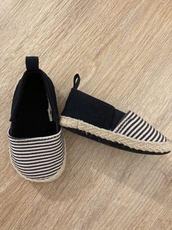 Buty dzieciece, niechodki espadryle