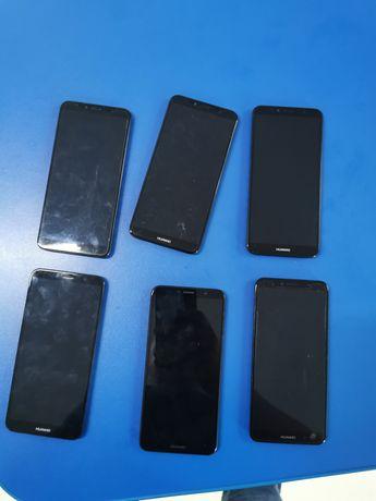 Huawei y6 2018  вместе с рамкою и акб