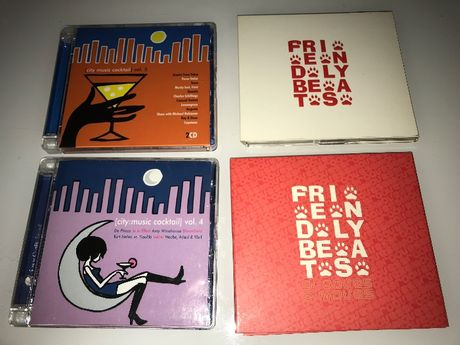 City music cocktail vol.4 i 5,Friendly Beats 2x2CD,NU Soul For Summer
