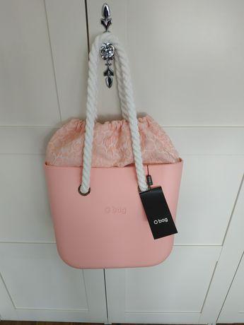 Nowy zestaw Obag mini powder pink