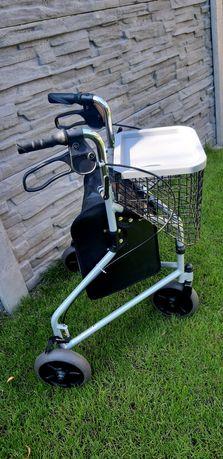 Wózek inwalidzki trzykołowy. Nowy.