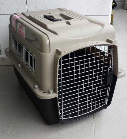 """Caixa de transporte para animais Ultra Vari Kennel 28"""" padrão IATA"""