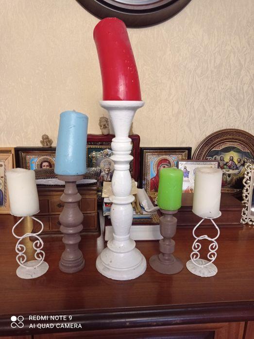 Подсвечники со свечами Кривой Рог - изображение 1