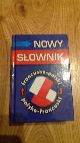 książki - słowniki polsko francuski, słownik poprawnej polszczyzny
