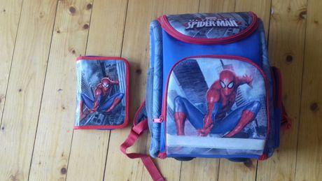 Plecak tornister + piórnik Spiderman