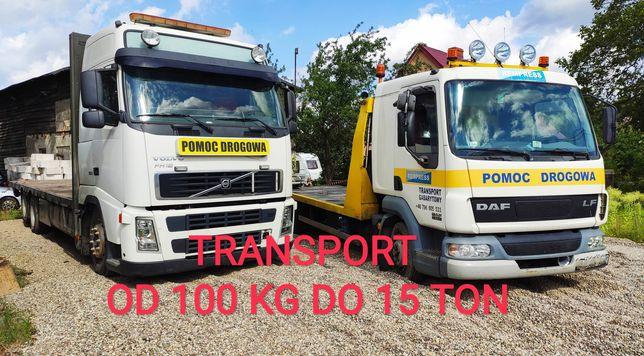 Auto laweta,holowanie,Pomoc drogowa  ,Transport Maszyn rolniczych TIR