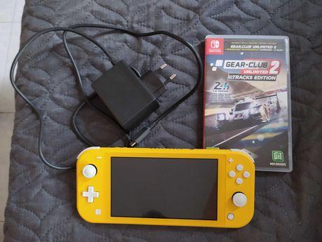 Nintendo switch pouco usada