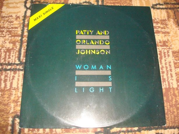 Płyty winylowe Patty And Orlando Johnson-Woman Is Light-Maxi