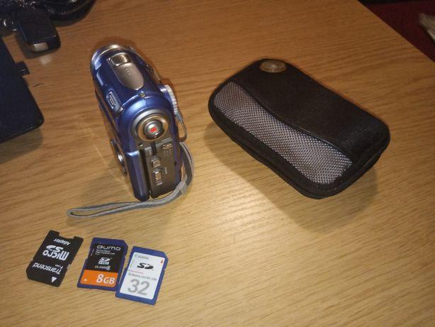Видеокамера MPEG 4 Movie Digital Video Camera с чехлом и sd картами
