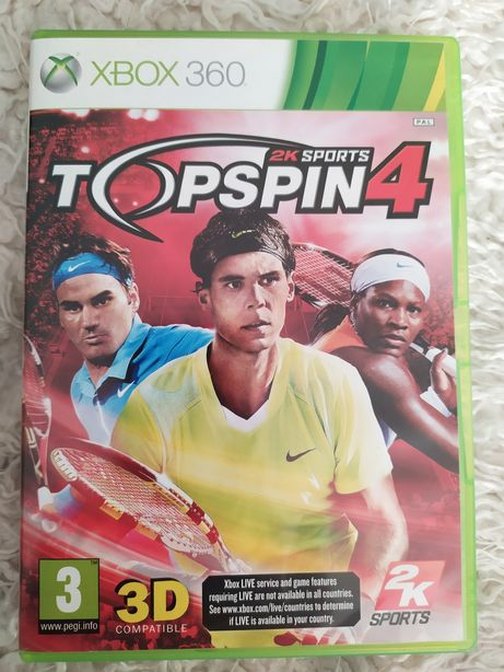 Gra Xbox 360 Topspin 4