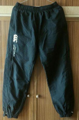 CANTERBURY OF NEW ZEALAND - czarne spodnie sportowe dresowe M