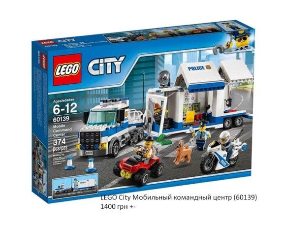 Блоковий конструктор LEGO CITY Duplo Friends Minecraft Harry Potter