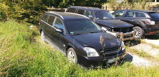 Opel vectra C uszkodzona