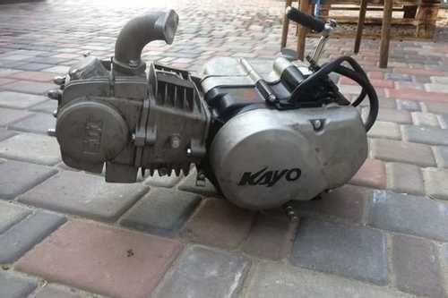 Разбор запчасти двигатель мотор  kayo viper 125 140