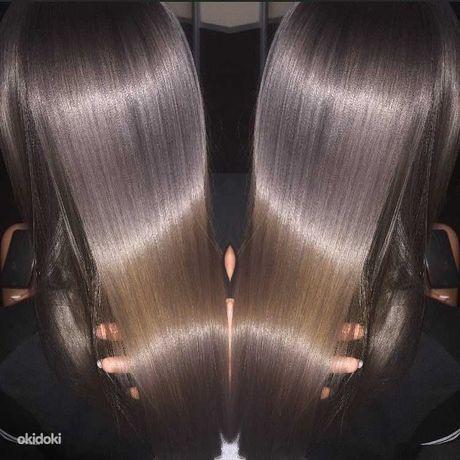 Холодное восстановление поврежденных волос Luxliss