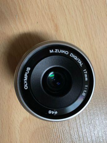 Objetiva Zuiko 17mm, f1,8 Olympus OMD