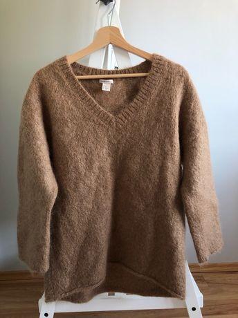 wełniany sweter H&M premium rozmiar XS S 34 36 knitwear