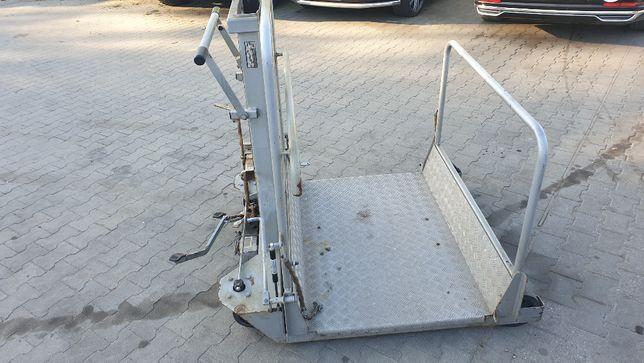 podnośnik inwalidzki zwyżka platforma herkules rampa najazd dla wózków