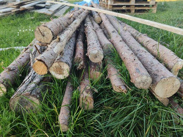 Stemple stęple budowlane drewniane 2,90m
