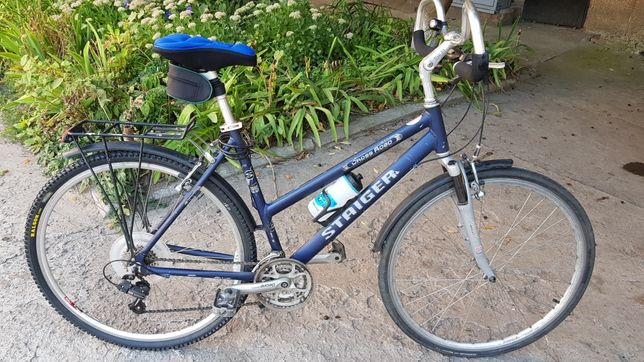 Stiger алюмінієвий велосипед міський дорожник 28 колеса shimano deore