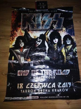 Kiss plakat Kraków 2019