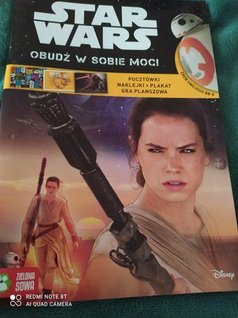 Książeczka star Wars zabawa naklejki plakat!