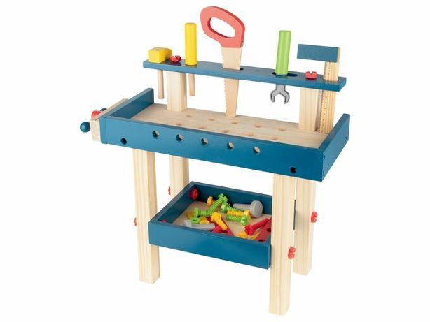 Mesa ferramentas madeira NOVA