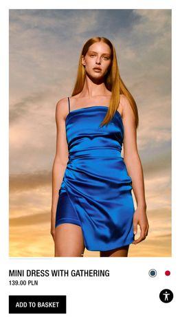 Zara платье XS оригинал