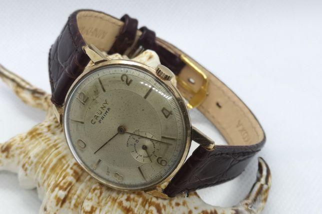 Relógio de corda CAUNY Centenario Unitas 176 15 Rubis - 36 mm