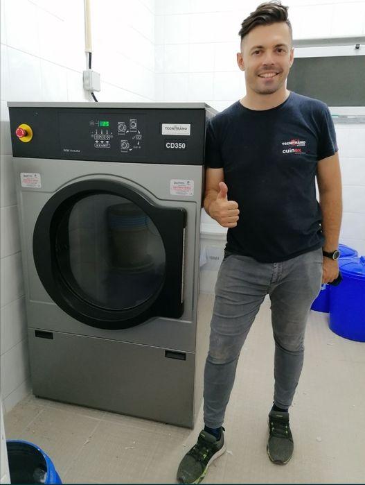 Máquina de secar roupa industrial / secador roupa Benfica - imagem 1