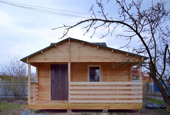 Дачные домики за 3550$,садовые домики,деревянные дома с бруса