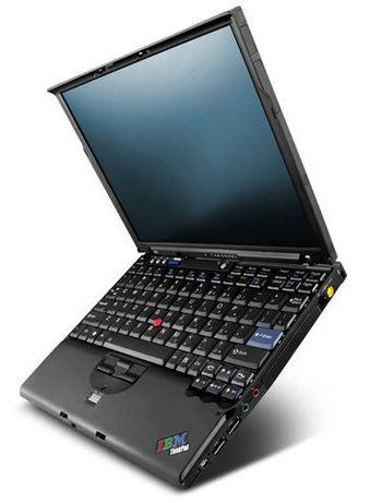 Неубиваемый сверхнадежный ноутбук IBM X61 Карбоновый корпус!