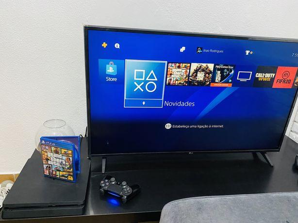 PlayStation 4 Slim [1TB] + GTA V