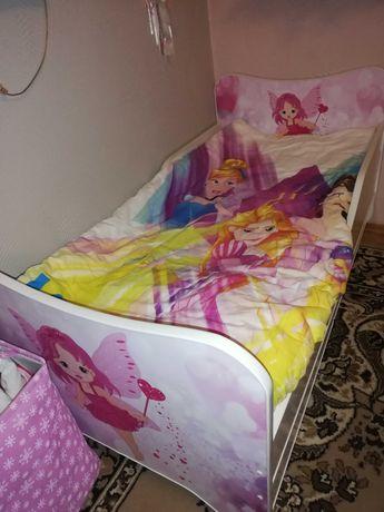 Łóżko łóżeczko dla dziewczynki