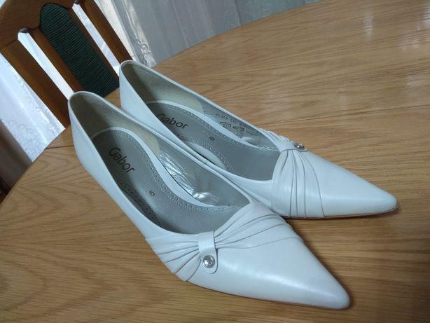 Skóra naturalna, buty Gabor 6 (39/40) jak nowe