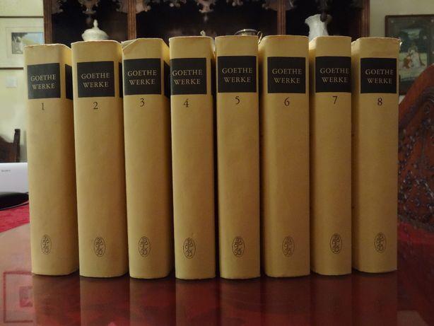 GŒTHE, J. W. – 'Obra Completa ∟ 8 Volumes l 1967