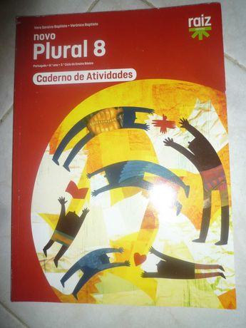 Novo Plural 8 Caderno de atividades de Português Novo